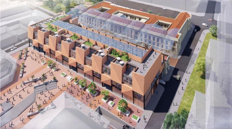 Publicados pliegos para la construcción del Bronx Distrito Creativo