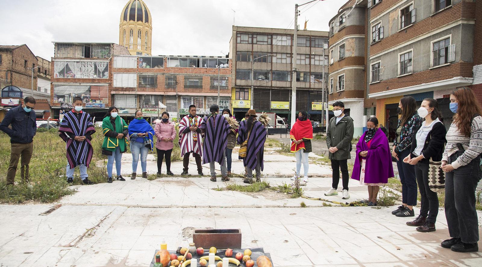 El Bronx continúa su proceso de sanación de la mano de la comunidad Inga