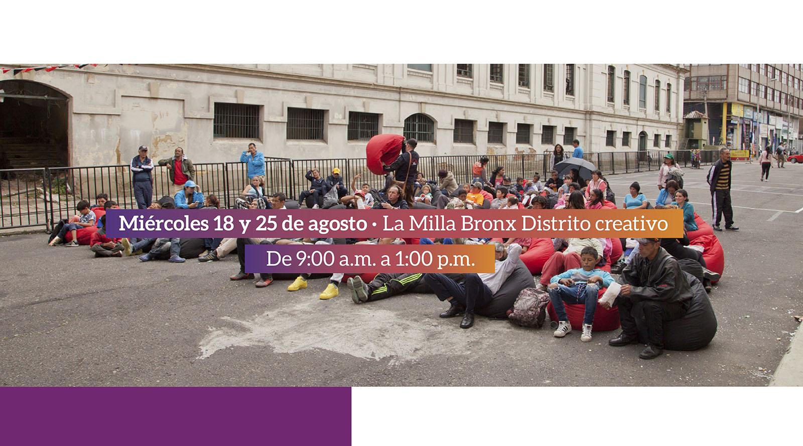 """""""Fúgate al Bronx"""", un espacio para la comunidad"""